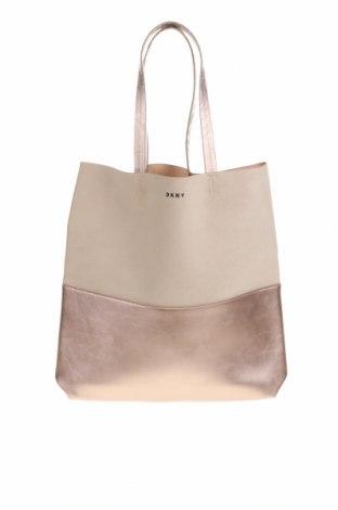 Γυναικεία τσάντα DKNY, Χρώμα Ρόζ , Δερματίνη, κλωστοϋφαντουργικά προϊόντα, Τιμή 42,68€