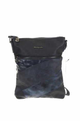 Γυναικεία τσάντα Desigual, Χρώμα Μπλέ, Δερματίνη, Τιμή 38,27€
