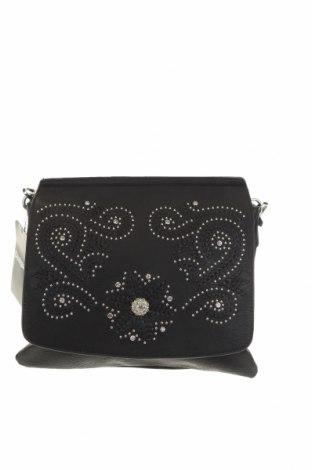 Γυναικεία τσάντα Desigual, Χρώμα Μαύρο, Δερματίνη, Τιμή 53,74€
