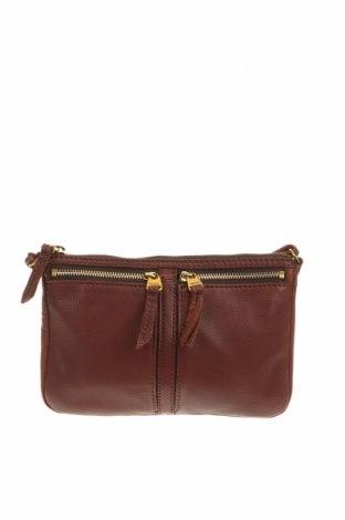 Γυναικεία τσάντα Fossil, Χρώμα Καφέ, Γνήσιο δέρμα, Τιμή 29,69€