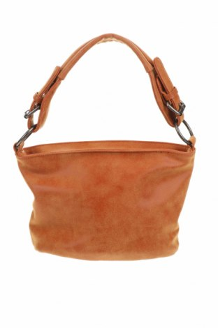 Дамска чанта Fritzi Aus Preussen, Цвят Кафяв, Еко кожа, Цена 30,92лв.
