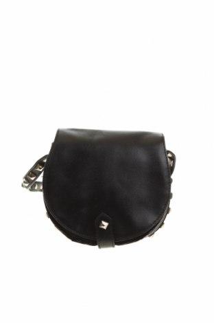 Дамска чанта Ghanda, Цвят Черен, Еко кожа, Цена 17,06лв.