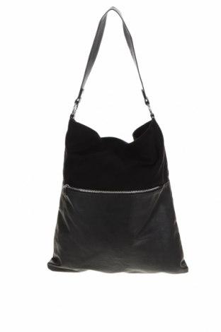 Γυναικεία τσάντα H&M Divided, Χρώμα Μαύρο, Κλωστοϋφαντουργικά προϊόντα, δερματίνη, Τιμή 14,29€