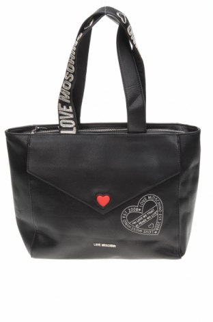 Dámská kabelka  Love Moschino, Barva Černá, Eko kůže, Cena  4331,00Kč