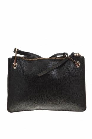 Дамска чанта Mango, Цвят Черен, Еко кожа, Цена 29,40лв.