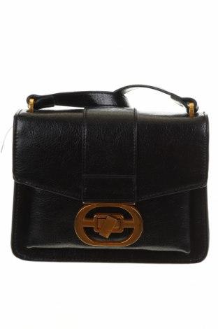 Γυναικεία τσάντα Mango, Χρώμα Μαύρο, Δερματίνη, Τιμή 19,49€