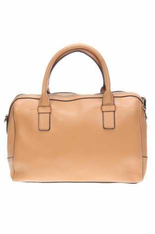 Γυναικεία τσάντα Mi Piaci, Χρώμα  Μπέζ, Γνήσιο δέρμα, Τιμή 27,28€