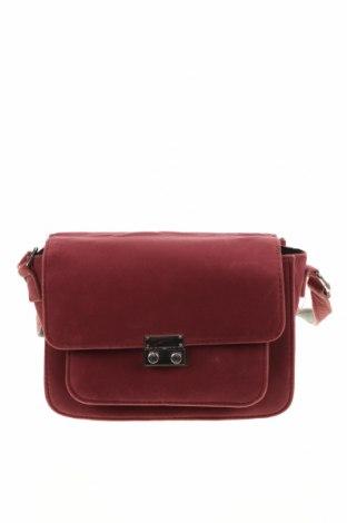 Дамска чанта Pieces, Цвят Розов, Текстил, Цена 20,16лв.