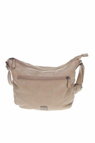Γυναικεία τσάντα S.Oliver, Χρώμα  Μπέζ, Δερματίνη, Τιμή 18,09€