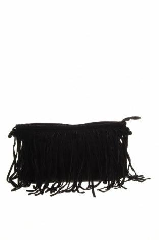 Дамска чанта Sportsgirl, Цвят Черен, Текстил, Цена 19,69лв.