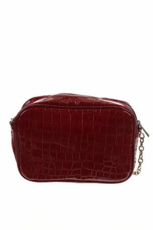 Дамска чанта Stradivarius, Цвят Червен, Еко кожа, Цена 21,84лв.
