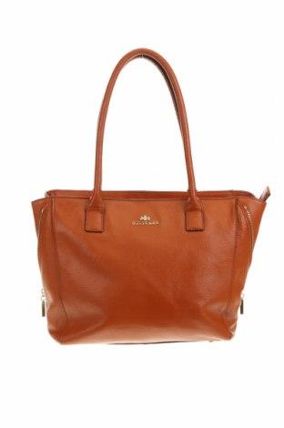 Γυναικεία τσάντα Wittchen, Χρώμα Καφέ, Γνήσιο δέρμα, Τιμή 41,29€
