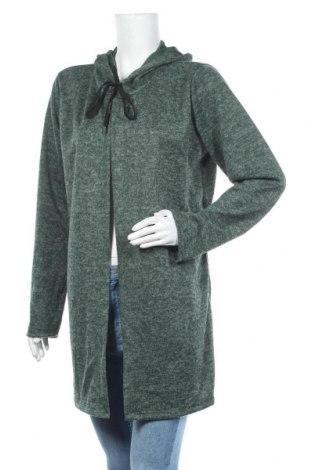 Дамска жилетка Creme Fraiche, Размер L, Цвят Зелен, Цена 14,28лв.