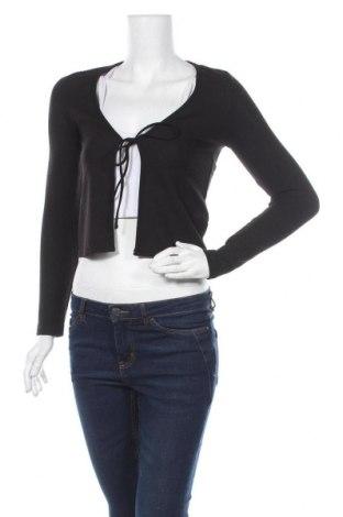 Γυναικεία ζακέτα H&M Divided, Μέγεθος XS, Χρώμα Μαύρο, 95% πολυεστέρας, 5% ελαστάνη, Τιμή 15,59€