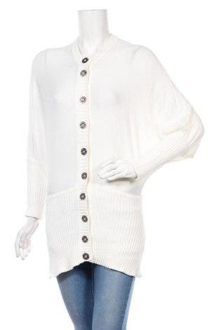 Cardigan de damă Karen Millen, Mărime M, Culoare Alb, Bumbac, Preț 93,16 Lei