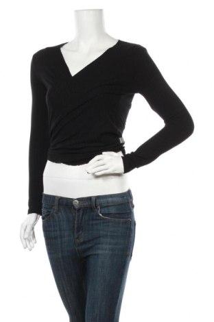 Дамска жилетка Mads Norgaard, Размер XL, Цвят Черен, 92% вискоза, 8% еластан, Цена 58,07лв.