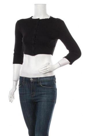 Дамска жилетка Missguided, Размер S, Цвят Черен, 96% вискоза, 4% еластан, Цена 34,50лв.