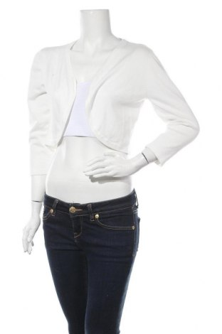 Γυναικεία ζακέτα Morgan De Toi, Μέγεθος XL, Χρώμα Λευκό, 78% βισκόζη, 22% πολυαμίδη, Τιμή 24,74€