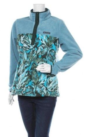 Γυναικεία μπλούζα fleece Columbia, Μέγεθος M, Χρώμα Μπλέ, 100% πολυεστέρας, Τιμή 34,62€