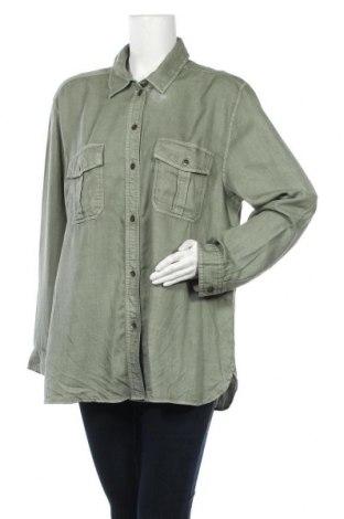 Дамска риза American Eagle, Размер XL, Цвят Зелен, Лиосел, Цена 39,00лв.