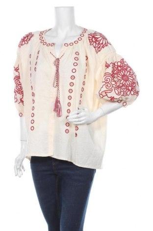 Γυναικείο πουκάμισο Apart, Μέγεθος S, Χρώμα Εκρού, Πολυεστέρας, Τιμή 34,41€
