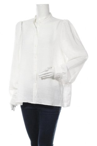 Дамска риза Aware by Vero Moda, Размер XL, Цвят Бял, Полиестер, Цена 14,56лв.