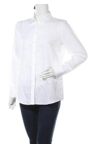 Γυναικείο πουκάμισο Banana Republic, Μέγεθος M, Χρώμα Λευκό, 58% λινό, 42% βαμβάκι, Τιμή 46,01€