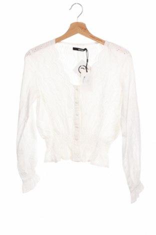 Γυναικείο πουκάμισο Bik Bok, Μέγεθος XS, Χρώμα Λευκό, Πολυεστέρας, Τιμή 18,95€