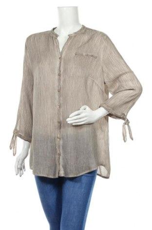 Γυναικείο πουκάμισο Charles Vogele, Μέγεθος XL, Χρώμα Καφέ, Τιμή 12,34€
