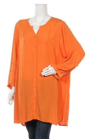 Дамска риза Ciso, Размер XXL, Цвят Оранжев, Вискоза, Цена 36,75лв.