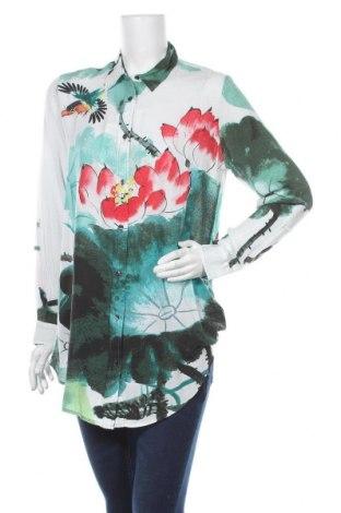 Γυναικείο πουκάμισο Desigual, Μέγεθος M, Χρώμα Πολύχρωμο, Βισκόζη, Τιμή 34,39€