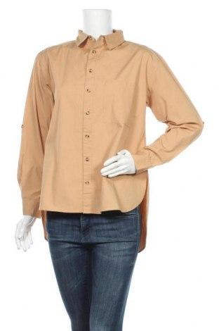 Γυναικείο πουκάμισο Esme Studios, Μέγεθος M, Χρώμα Καφέ, Βαμβάκι, Τιμή 45,62€