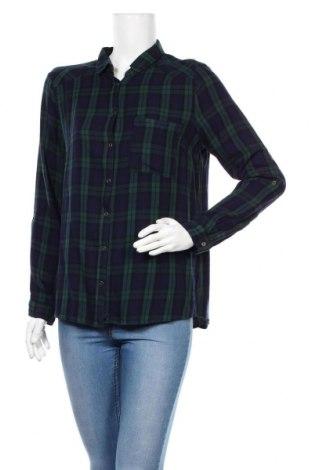 Дамска риза Esprit, Размер L, Цвят Син, Вискоза, Цена 17,25лв.