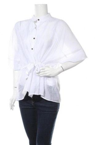 Дамска риза Faina, Размер M, Цвят Бял, 75% вискоза, 25% полиестер, Цена 31,50лв.