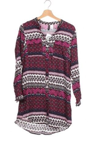 Γυναικείο πουκάμισο H&M Divided, Μέγεθος XS, Χρώμα Πολύχρωμο, Βισκόζη, Τιμή 11,69€