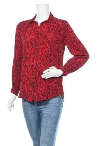 Γυναικείο πουκάμισο H&M Divided, Μέγεθος M, Χρώμα Κόκκινο, Βισκόζη, Τιμή 12,34€