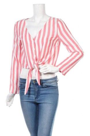 Γυναικείο πουκάμισο H&M Divided, Μέγεθος S, Χρώμα Κόκκινο, Βισκόζη, Τιμή 12,06€