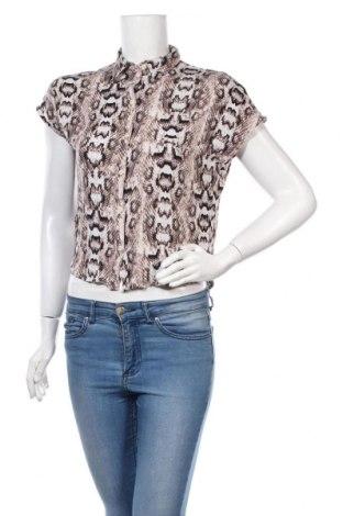 Γυναικείο πουκάμισο H&M Divided, Μέγεθος XXS, Χρώμα Πολύχρωμο, Βισκόζη, Τιμή 10,21€