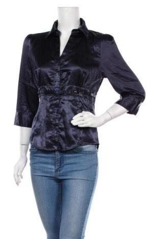Дамска риза Hot Options, Размер L, Цвят Син, Полиестер, еластан, Цена 17,01лв.