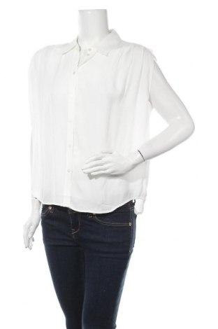 Дамска риза Mango, Размер S, Цвят Бял, Вискоза, Цена 31,50лв.