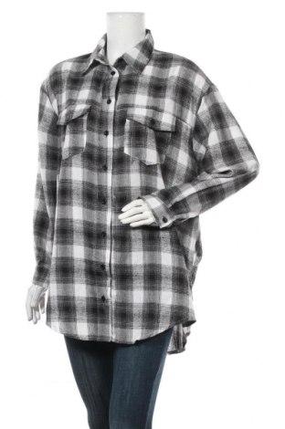 Дамска риза Missguided, Размер S, Цвят Черен, 65% полиестер, 35% памук, Цена 33,00лв.