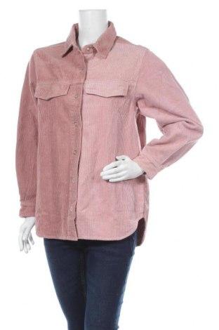 Дамска риза Missguided, Размер S, Цвят Розов, 77% памук, 23% вискоза, Цена 33,00лв.