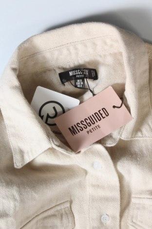 Дамска риза Missguided, Размер S, Цвят Бежов, Памук, Цена 31,08лв.