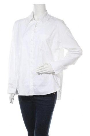 Дамска риза Monki, Размер S, Цвят Бял, Памук, Цена 33,00лв.