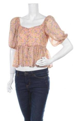 Дамска риза New Look, Размер M, Цвят Многоцветен, Полиестер, Цена 11,27лв.