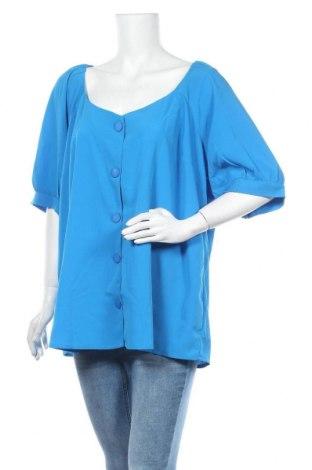Дамска риза Simply Be, Размер XXL, Цвят Син, Полиестер, Цена 12,25лв.