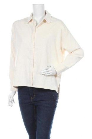 Дамска риза Someday., Размер M, Цвят Екрю, 90% полиестер, 8% полиамид, 2% еластан, Цена 42,57лв.