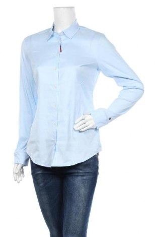 Γυναικείο πουκάμισο Tommy Hilfiger, Μέγεθος M, Χρώμα Μπλέ, 70% βαμβάκι, 30% πολυεστέρας, Τιμή 41,71€