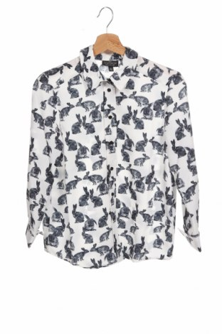 Γυναικείο πουκάμισο Topshop Petite, Μέγεθος XS, Χρώμα Λευκό, Πολυεστέρας, Τιμή 26,68€