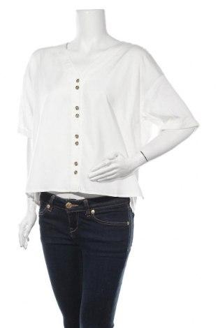 Дамска риза Vero Moda, Размер L, Цвят Бял, 70% вискоза, 30% лиосел, Цена 36,75лв.